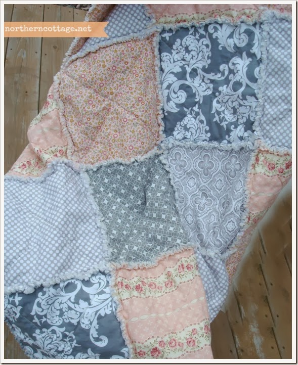 {Northern Cottage} pretty soft cottage quilt