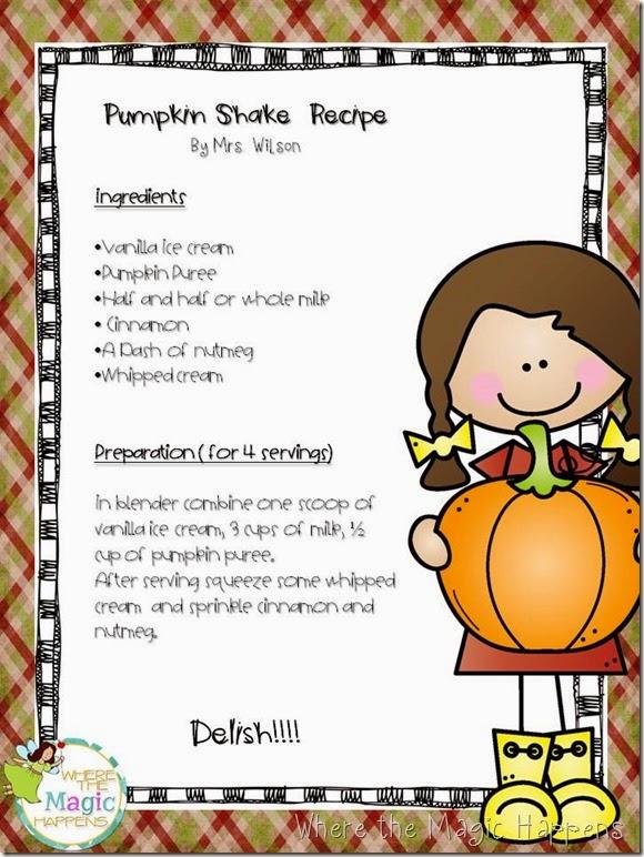 pumpkin shake