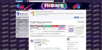 Tema skin para Facebook Rebelde