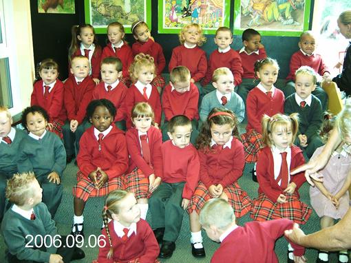 Подготовительный класс в школе, день первый