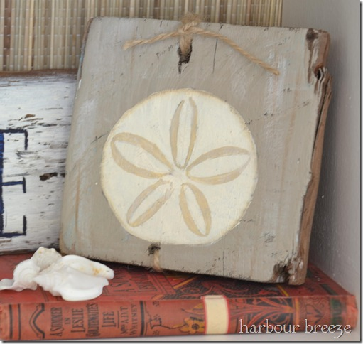 Painted Sand Dollar Harbour Breeze Home
