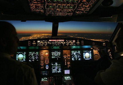 Airbus A340 cockpit (Small)