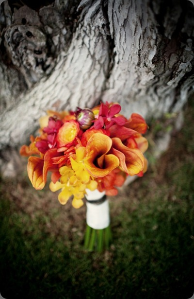 sunset bouquet by tree bliss in bloom