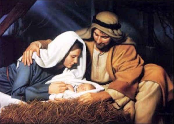 Niño Jesus en el pecebre