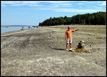 03c - Bar Island Hike - not that way Dan