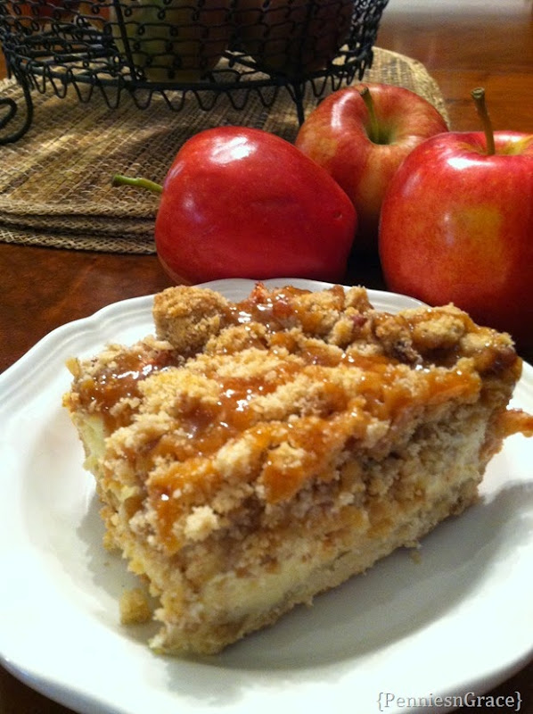 caramel apple cheesecake bars (3)