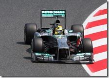 Rosberg conquista la pole del gran premio di Spagna 2013