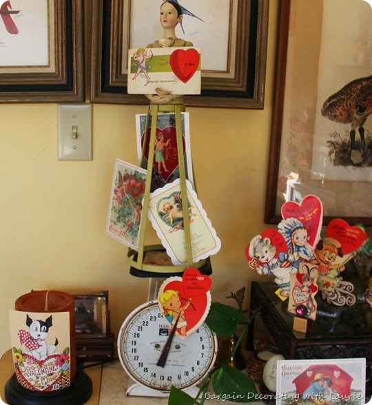 Vintage Valentine Display 8