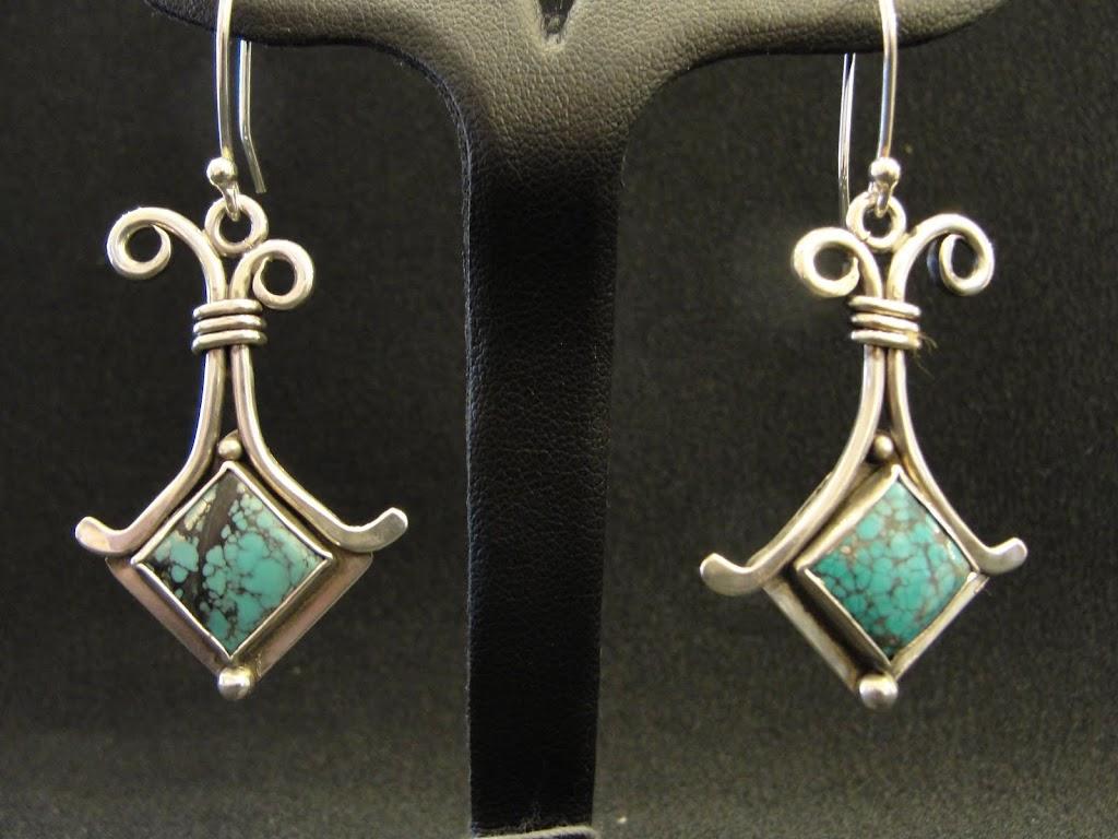 Turquoise Squares.....$95