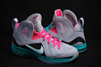 nike lebron 9 ps elite grey candy pink 8 01 LeBron 9 P.S. Elite Miami Vice Official Images & Release Date
