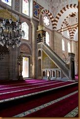 Istanbul mosque minbah