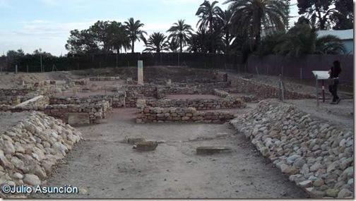 Domus romana de Ilici - Yacimiento de la Alcudia - Elche