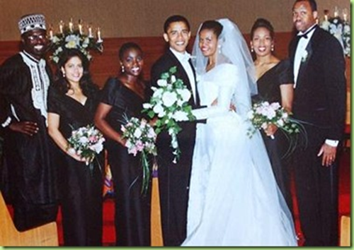 obama wedding