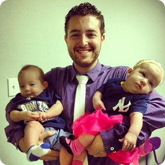 Grant with the Yankee Twins