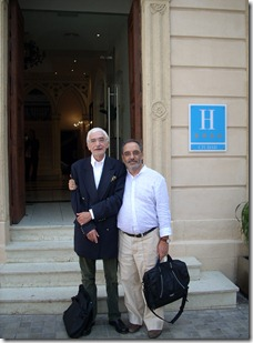 Ch. Porset y Victor Guerra