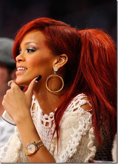 Rihanna 2011 NBA Star Game Performances Celebrities yAF-_mFYX3Jl