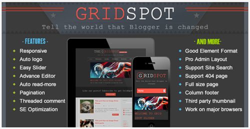 gridspot blogger theme