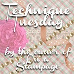 Technique Tuesday button