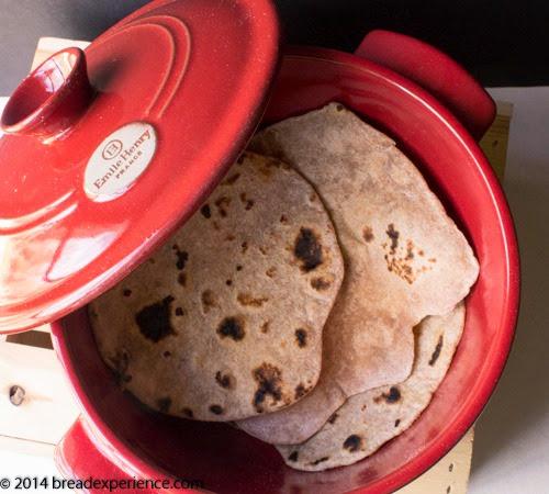 Chapatis (Indian Flatbreads) #BreadBakingBabes