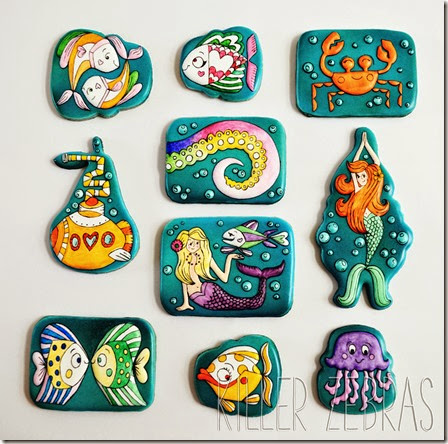 Practice bakes perfect- ocean theme