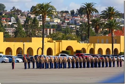 Marine Graduation 214