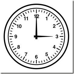 clockbnw