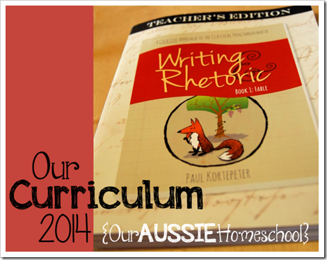 Our Curriculum 2014 | Our Aussie Homeschool