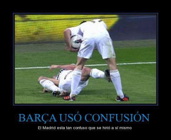 Barcelona uso confusion