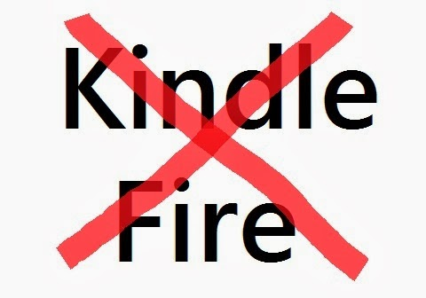 Reasons not to buy Kindle Fire