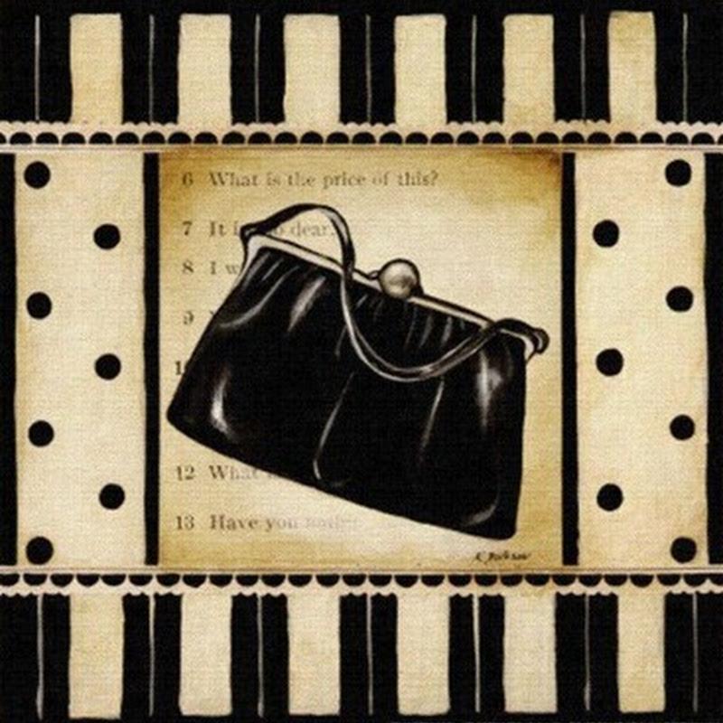 Acessórios para decoupage:bolsas