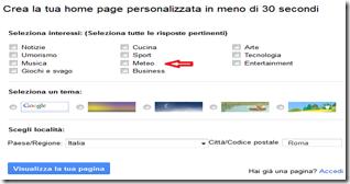 google meteo