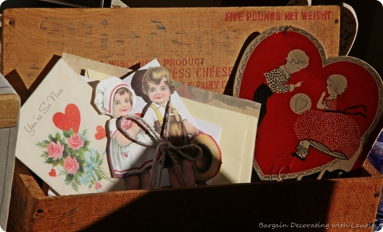 Vintage Valentine Display 7