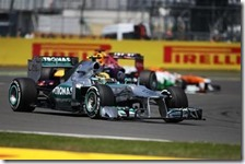 Rosberg ha vinto il gran premio di Gran Bretagna 2013