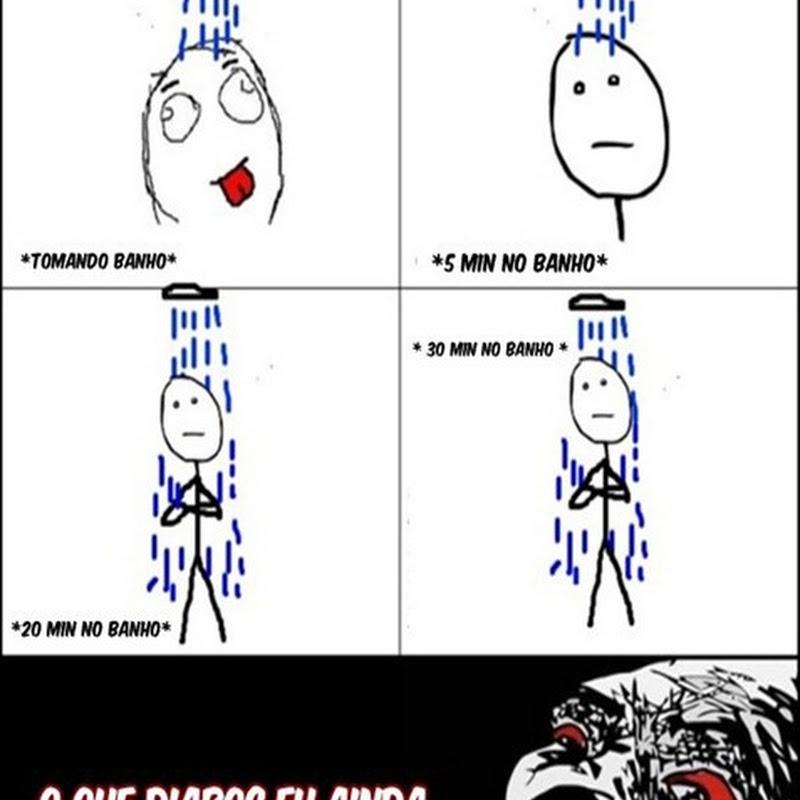 No Banho [Humor]
