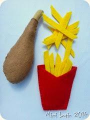 Poulet frite version mimi lutin