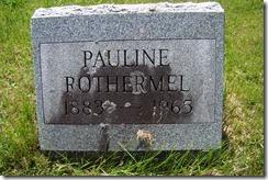 1883-1965 Pauline Rothermel Hoosick NY Cemetery