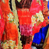 Colorful Shop Stalls In The Marigot Market - Philipsburg, St. Maarten