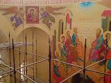 Фрагмент росписи Богоявленского храма Иверская И.Б.М