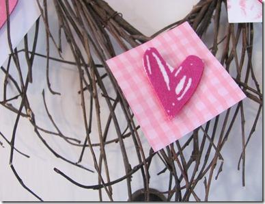 Heart wreaths DIY