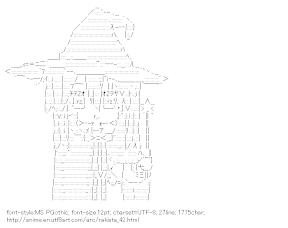[AA]Izumi Konata Witch (RakiSta)