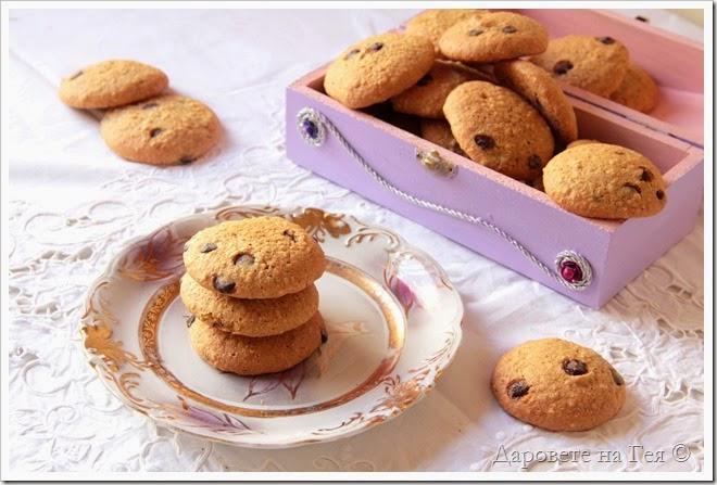 Бисквитки с орех и шоколад_9468