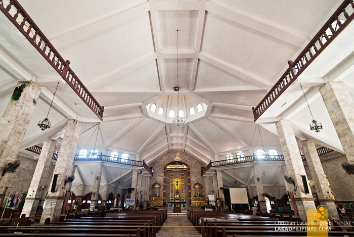 Interior of Danao Church