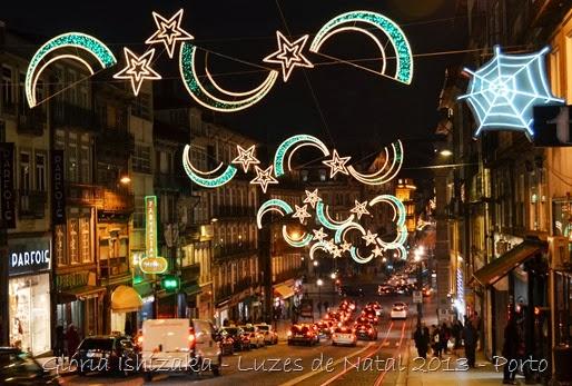 Glória Ishizaka - Luzes de Natal 2013 - Porto 1 Rua dos Clérigos 1