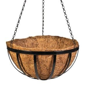 metal hanging basket from home depot