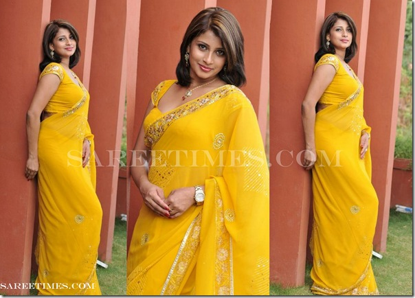 Nadeesha_Yellow_Saree