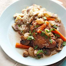 Slow Cooker Coq au Vin