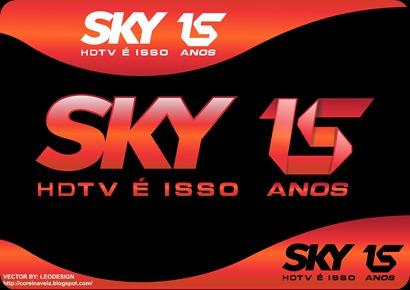 Logo Sky HDTV 15 anos vector Grátis + Pack de Wallpapers ...
