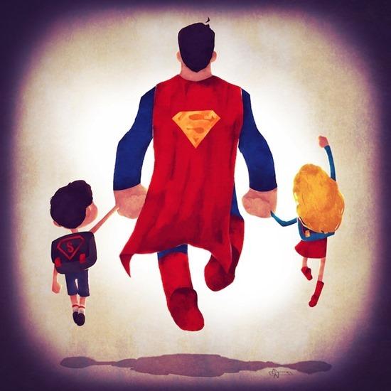 Super heróis em família 02