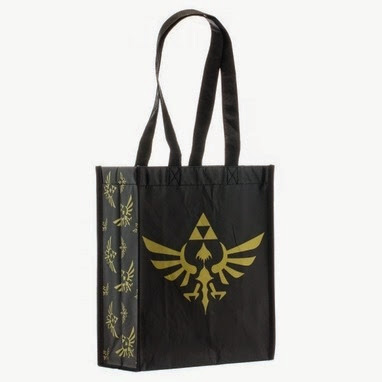 Legend of Zelda Skyward Crest Tote Bag from Stylin Online