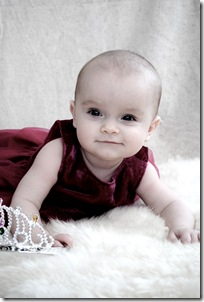 Lisa nästan 7 månader o svensk prinsessan e född! 032